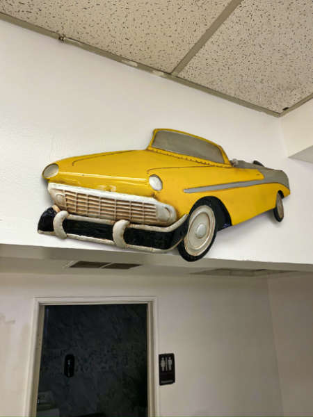 vintage-yellow-car-sign